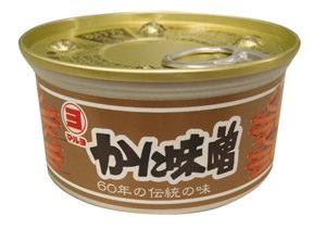 マルヨ食品 かにみそ缶100g